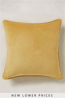 Soft Velour Square Cushion