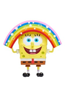 SpongeBob Masterpiece Memes Collection Rainbow SpongeBob Figure