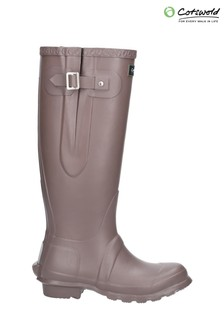 Cotswold Brown Windsor Tall Wellington Boots