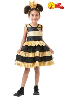 Rubies Deluxe LOL Surprise Queen Bee Fancy Dress Costume