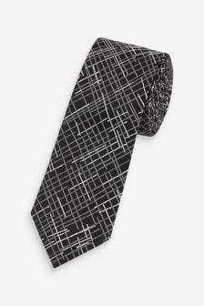 Sketch Check Tie