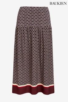 Baukjen Blue Chamille Skirt