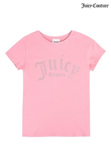 Juicy Couture Gothic Diamanté T-Shirt