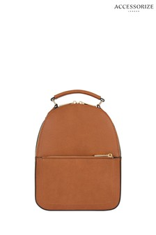 Accessorize Tan Tommie Midi Dome Backpack