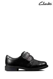 Clarks Black Scala Skye T Shoes