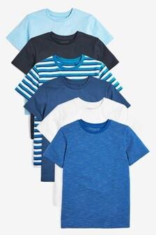 6 Pack T-Shirts (3-16yrs)