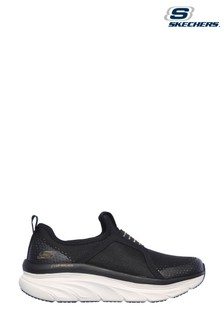 Skechers Black D'Lux Walker Pillow Heaven Shoes