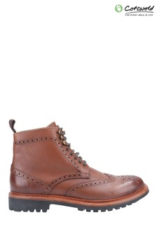 Cotswold Rissington Commando Goodyear Welt Lace-Up Boots