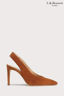 L.K.Bennett Brown Ilana Slingbacks