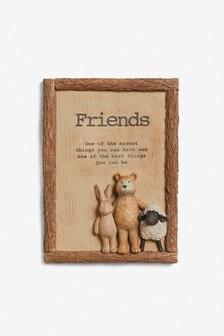Friends Plaques