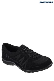 Skechers® Black Relaxed Fit Breathe Easy Moneybags Trainers