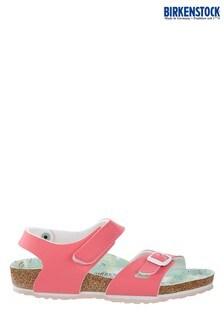 Birkenstock® Pink Velcro Colorado Sandals