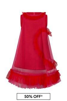 Simonetta Girls Purple Dress
