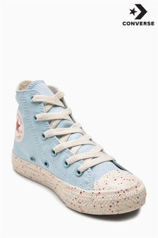 Converse Blue Speckled Chuck Hi