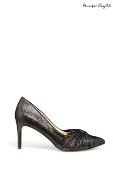 Phase Eight Metallic Keri Knot Front Metallic Court Shoes
