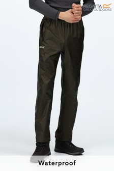 Regatta Green Pack It Waterproof Overtrousers