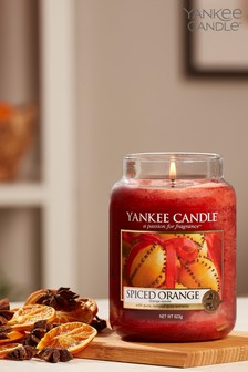 Yankee Candle Classic Large Spiced Orange Candle
