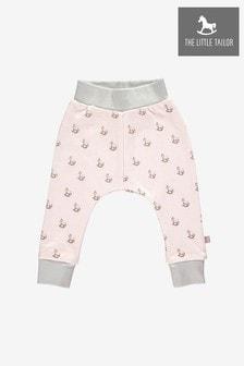 The Little Tailor Pink Cotton Comfy Pants