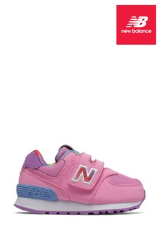 New Balance 574 Infant Velcro Trainers