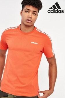 adidas Essential 3 Stripe T-Shirt