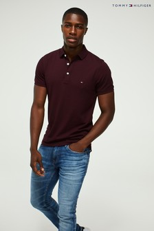 Tommy Hilfiger Red Slim Fit Polo