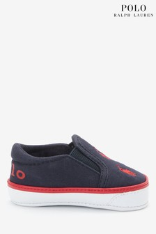 Ralph Lauren Navy Harbour Baby Shoes