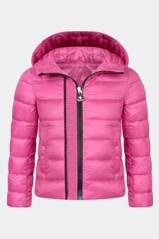 Moncler Enfant Moncler Girls Pink Glycine Jacket