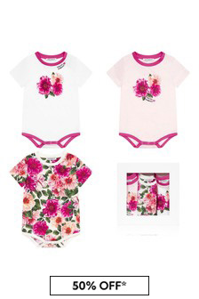Dolce & Gabbana Kids Baby Girls Pink Gift Set