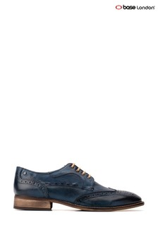 Base London® Blue Kitchin Softy Lace-Up Brogues