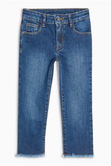 Straight Leg Ankle Length Jeans (3-16yrs)