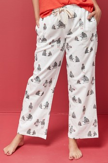 Bear Cotton Pyjama Pants