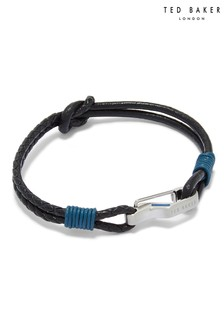Ted Baker Knotted Leather Bracelet