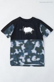 Angel & Rocket Green Camoflage T-Shirt