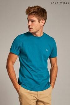 Jack Wills Teal Sandleford T-Shirt