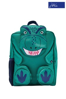 Joules Green Zippyback Novelty Backpack
