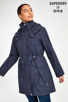 Superdry Navy Parka