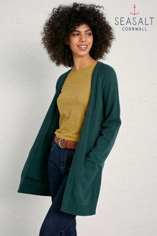 Seasalt Green Thicket Withan Cardigan