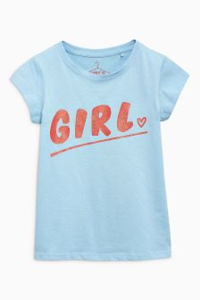 Graphic Short Sleeve T-Shirt (3-16yrs)