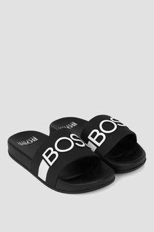 Boss Kidswear BOSS Boys Black Sandals