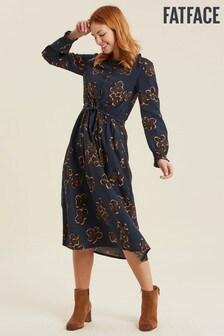 FatFace Keira Graphic Bloom Midi Dress