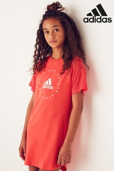 adidas Pink Athletic Club Dress