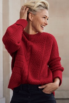 Emma Willis Cable Jumper
