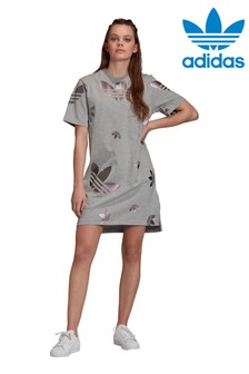 adidas Originals Repeat Logo Tee Dress