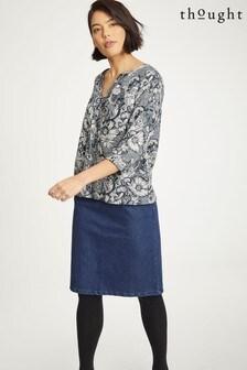 Thought Blue Emillia Skirt