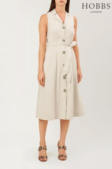 Hobbs Brown Delphina Dress