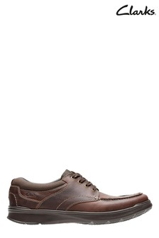 Clarks Brown Cotrell Edge Shoes