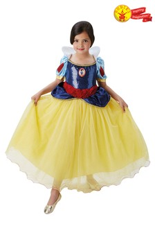 Rubies Yellow Snow White Premium Fancy Dress Costume