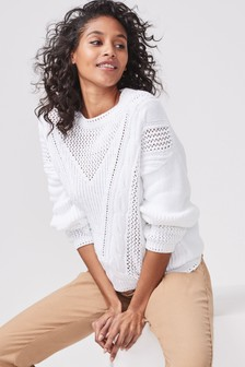 701b3af699abd Jumpers For Women | Knitted & Oversized Jumpers For Winters | Next
