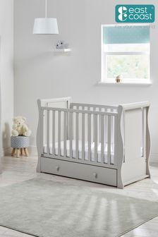 Nebraska Cot2Bed Grey By East Coast