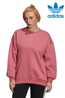 adidas Originals Maroon Cosy Must Haves Sweat Top